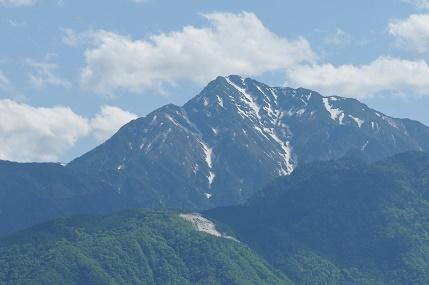 フォーレ小淵沢からみた山