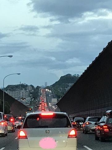 早朝の大渋滞・・・