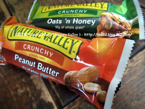 201705 ハワイで買ったNATURE VALLEY のGranola Bars(ハニーとピーナッツバター)