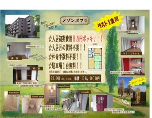 メゾンポプラ505-8万円ポッ