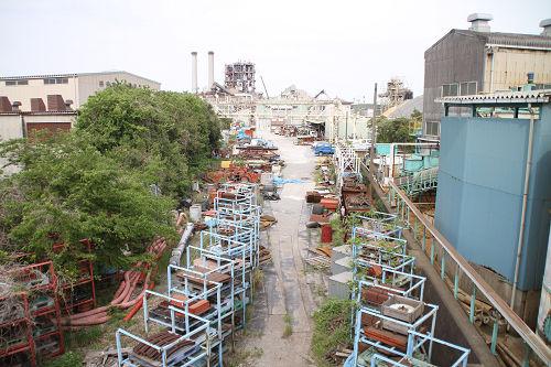 浅野セメント専用線跡