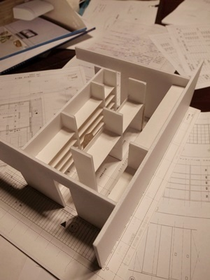 imaisaeクローゼット棚模型1706