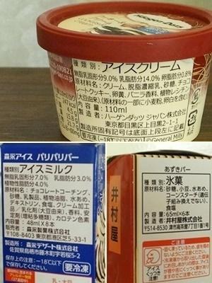 アイスクリーム種類1706