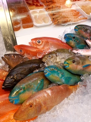 公設市場の魚1707