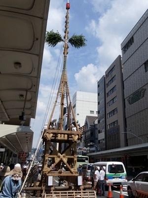 祇園祭鉾建て1707