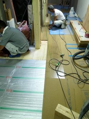 koyokan3床フローリング張り1709