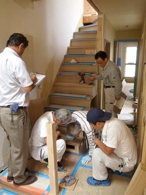 koyokan3階段手摺打合せ1709