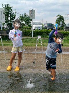 ブログ2 0723水遊び
