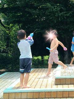 ブログ2 0725水遊び (1)