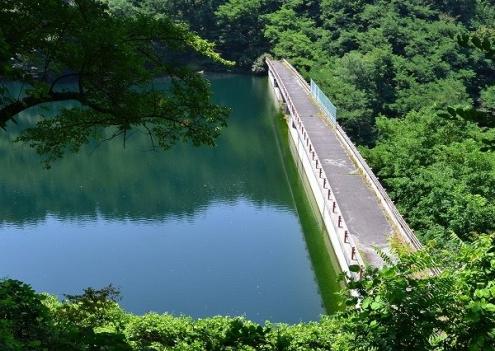 牛伏寺砂防ダム