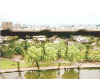 松本城 風景