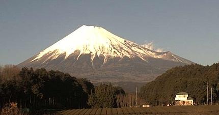 富士山 1月11日