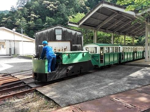 5 瀞静荘駅へ到着