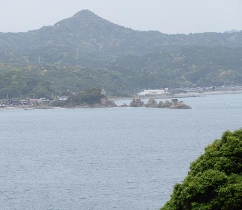 8 大島から橋杭岩