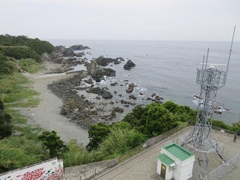 20 潮岬灯台からの景色