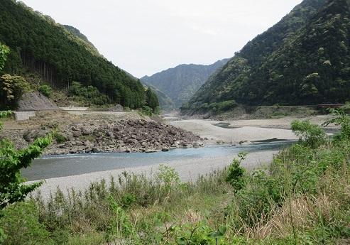 26 熊野川 水量が少ない