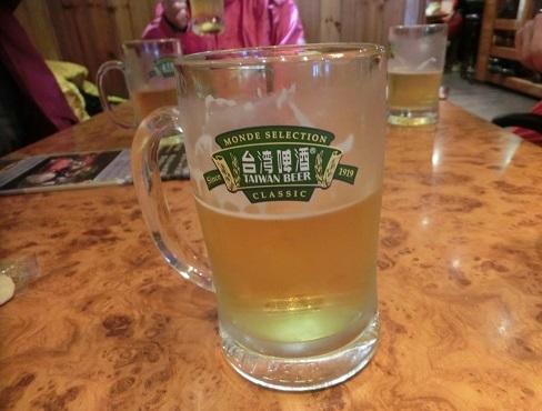 23 呑兵衛は、台湾ビールで一服