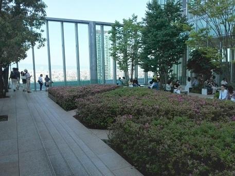 14 あべのハルカス・16階展望台 庭園