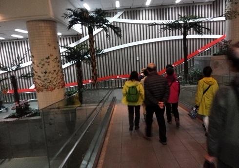 15 台北~中山駅間の地下街