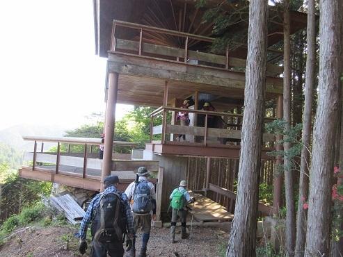 14 洞川展望台