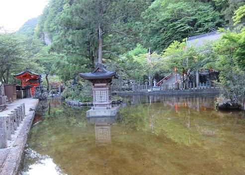 21 龍泉寺の池