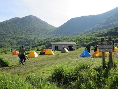 9 坊ガツルのキャンプ場
