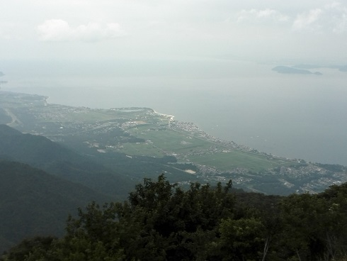 14 琵琶湖テラスから琵琶湖