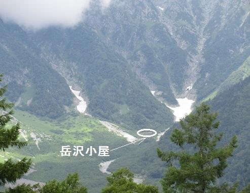 5 岳沢小屋