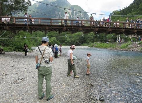 8 梓川と河童橋