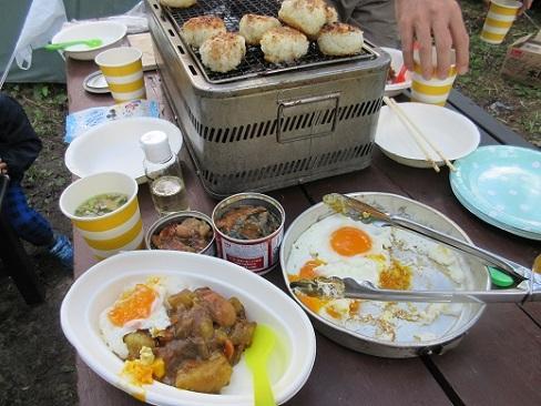 5 朝食の準備