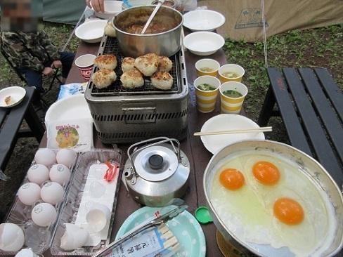 4 朝食の準備