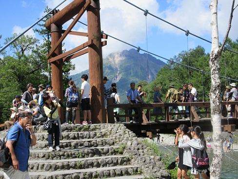 14 河童橋と焼岳