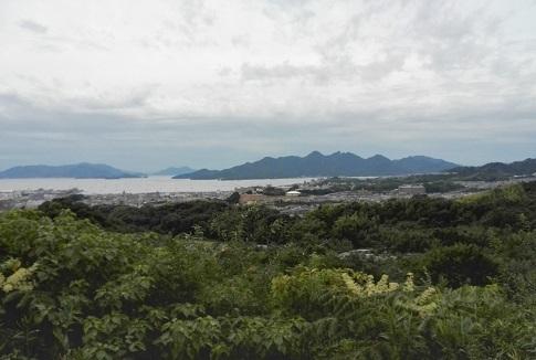2 山陽自動車道・宮島SAからの景色