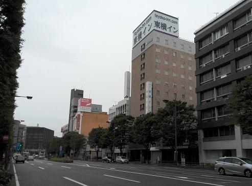 7 本日の宿・東横イン