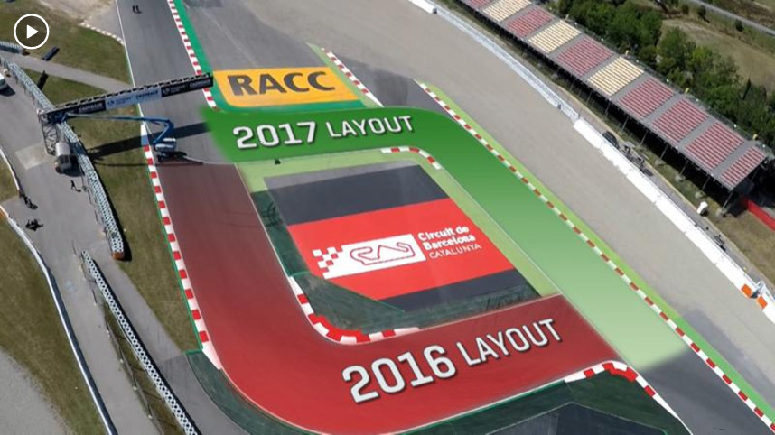 20170611_Catalan GP Layout to revert to chicane used in 2016