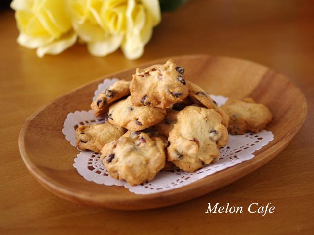 ナッツとセサミのチョコチップクッキー