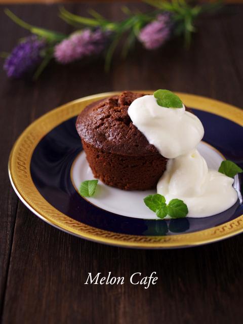 ガトーショコラのチョコレートたっぷりケーキ01