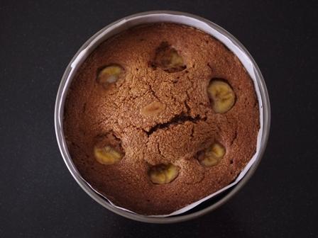 チョコバナナのドットケーキ05
