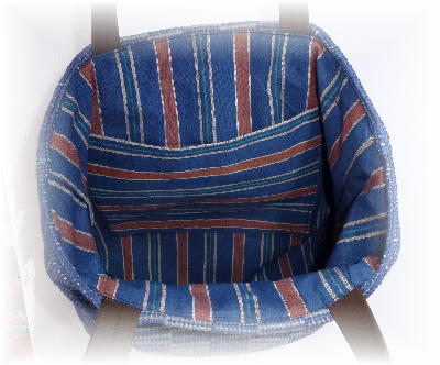 裂き織りバッグ12-2