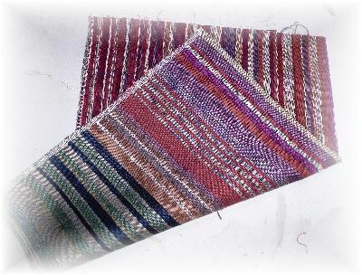 残糸織り1