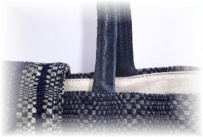 裂き織りトート13-5