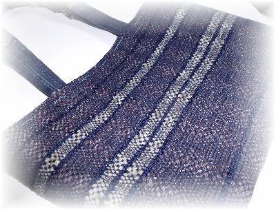 裂き織りトート14-1