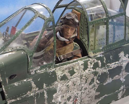 戦闘機のパイロット