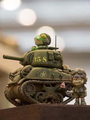 アラレちゃん戦車