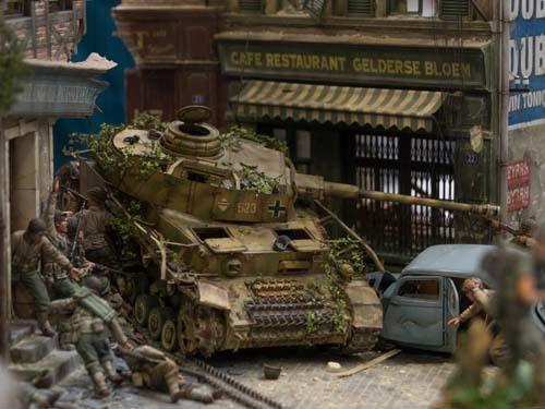 戦車ジオラマ