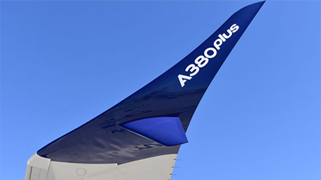 エアバスは、A380の改良版「A380plus」を発表! 新大型ウイングレットや翼の改良でコスト13%削減!2のコピー