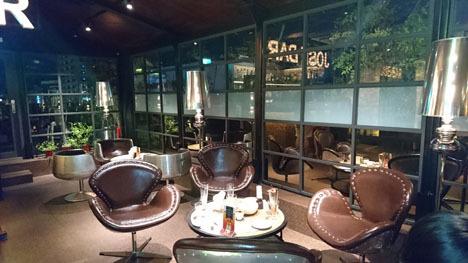 台北のホテル、ガーラホテル(台北慶泰大飯店)のバー3