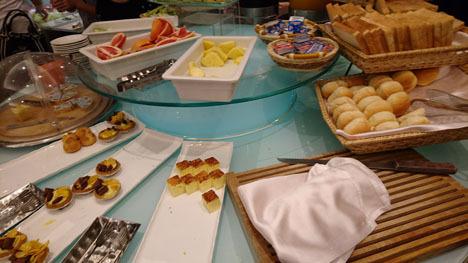 台北のホテル、ガーラホテル(台北慶泰大飯店)の朝食3
