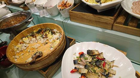台北のホテル、ガーラホテル(台北慶泰大飯店)の朝食5