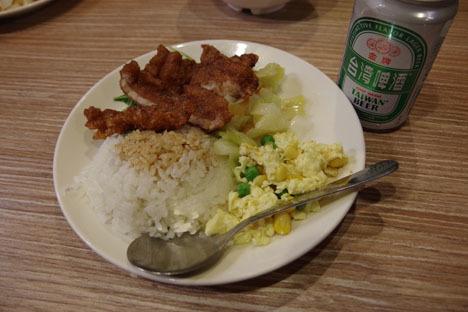 グルメで人気の台北、現実は規模しかったです!11